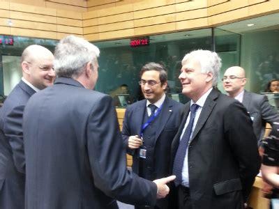 consiglio dei ministri riunione di oggi il ministro galletti oggi a bruxelles per riunione