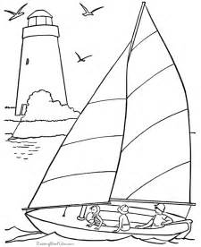Nautical coloring pages printable coloring page of the beach
