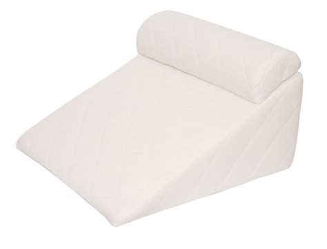 Incline Wedge Pillow by Acid Reflux Wedge 383 Thread Count Padded Cover