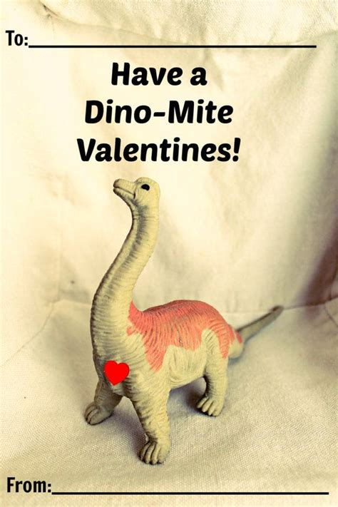 printable dinosaur s day cards by