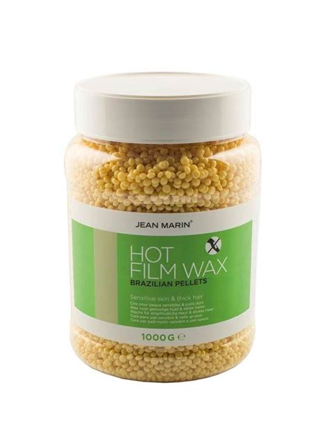 film hot wax jean marin epil wax hot film brazilian 1kg pro duo