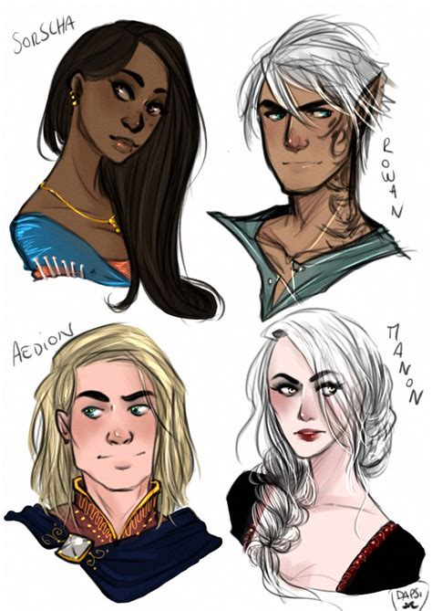 heir of fire throne 1619630656 by alexielapril the warm up of the day the characters of heir of fire throne of glass