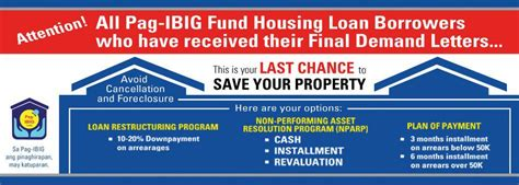 pag ibig housing loan foreclosed avoid the cancellation and foreclosure of properties under pag ibig housing loans