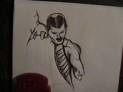 dibujos de fredy mi dibujo de freddie mercury a pluma y color taringa