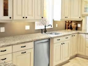 kitchen cabinets painted linen bisque like this for the farm add the black hardware tim
