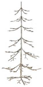 silver iron twig tree 36 quot transitional christmas trees