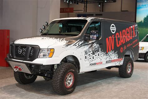 nissan cargo van 4x4 nissan created an nv cargo van you actually want