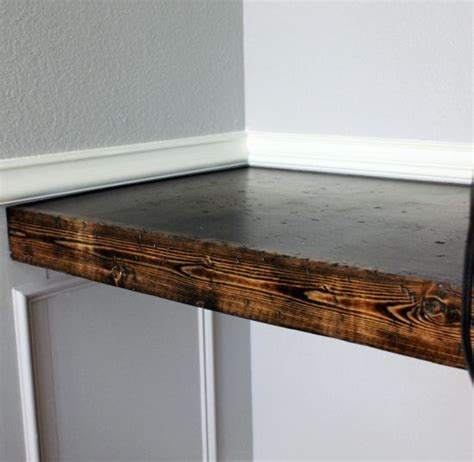 built in desk rustic colors and diy and crafts on pinterest