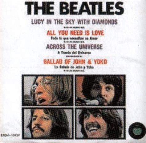 the beatles lucy in the sky with diamonds lucy in the sky with diamonds ep artwork mexico the