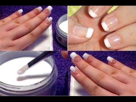 diy acrylic nails easy at home