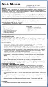 physical therapy resume exles physical therapist resume exle resume downloads