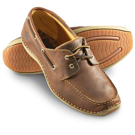 timberland annapolis boat shoes men s timberland 174 annapolis moc toe shoes brown