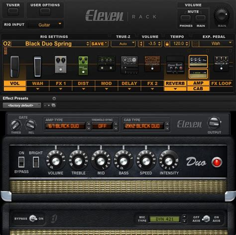 test digidesign eleven rack gitarren