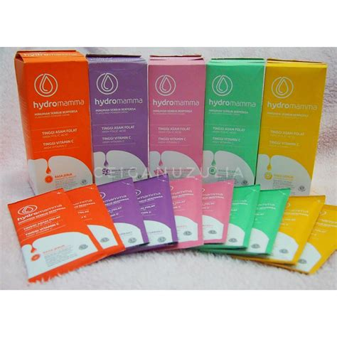 Hydromamma Sachet being a asinyafarah asi booster and vitamins