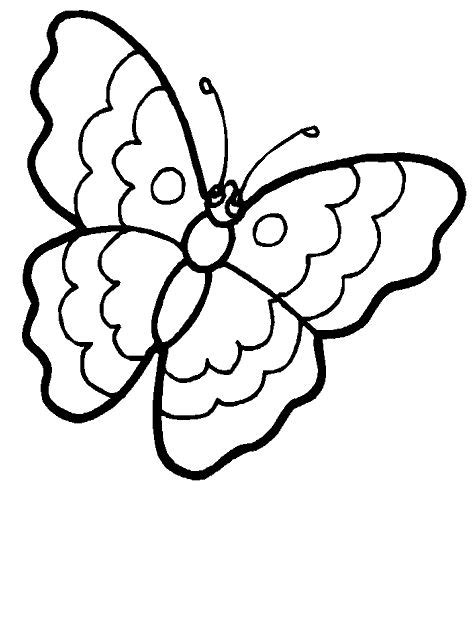 simple coloring pages of butterflies simple butterfly coloring sheet www imgkid com the