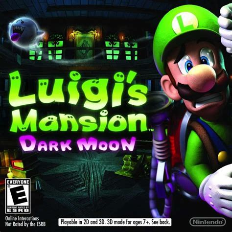 luigi s mansion moon for nintendo 3ds playable in 2d and 3d complete ebay items for