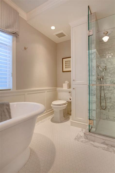 benjamin moore collingwood bathroom traditional  flush