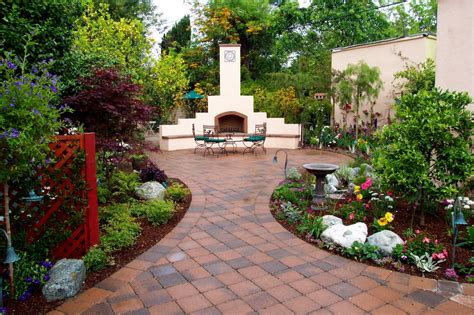 Outdoor Patio Garden Ideas Garden Patio Ideas Pictures Modern Home Exteriors