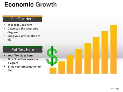 economic growth powerpoint presentation templates