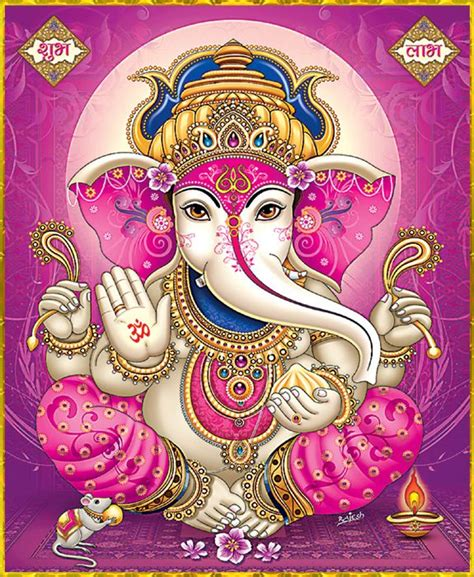 Ganesha Magenta 56 best india images on indian indian paintings and elephants