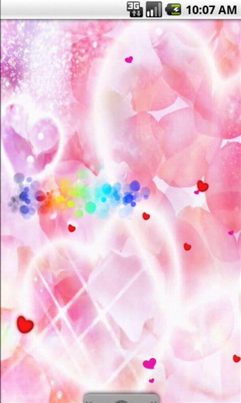 free cute friendship live wallpaper apk download for free pink heart cute live wallpaper apk download for