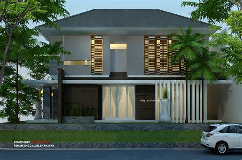 desain rumah denah rumah klasik 3 lantai basement desain rumah pojok semy basement modern tropis 2 lantai