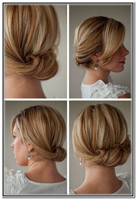 Easy Hairstyles For Medium Hair Black by Easy Buns For Shoulder Length Hair Gallery Updo Easy