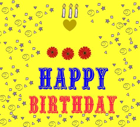 Happy Birthday Wishes Family Member Free Online Greeting Cards Ecards Animated Cards