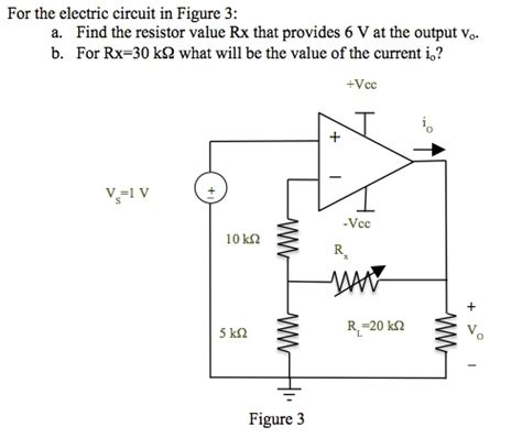 for the electric circuit in figure 3 a find the chegg