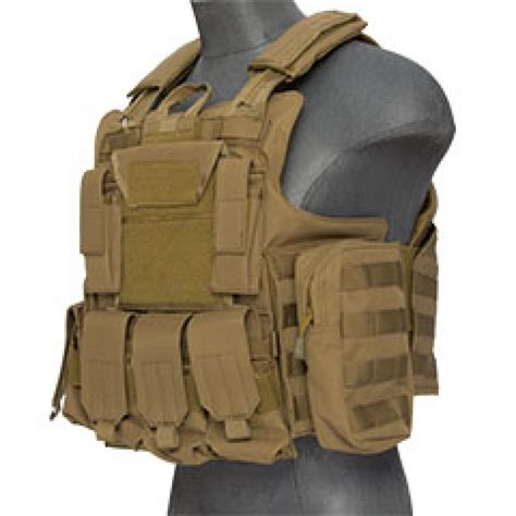Plate Carrier lancer tactical strike plate carrier vest