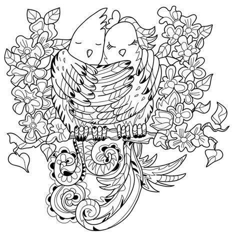 doodle bird free vector birds in doodle vector illustration stock