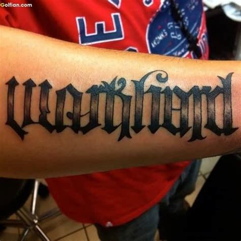 tattoo name backwards and forwards 50 most beautiful ambigram sleeve tattoos coolest