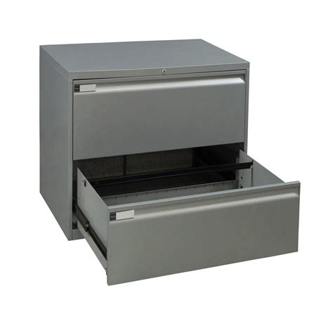 30 lateral file teknion used 2 30 inch lateral file silver