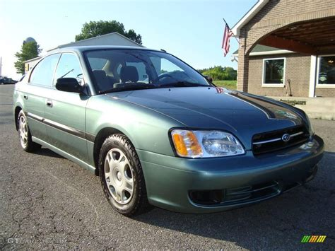 2001 subaru legacy l sedan 2001 wintergreen metallic subaru legacy l sedan 16908482