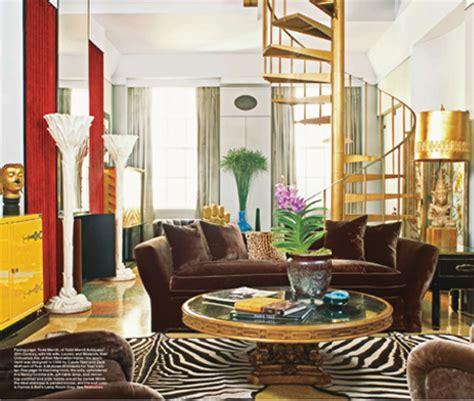 elle bedrooms elle decorgold rushdecember 2009 todd merrill studio