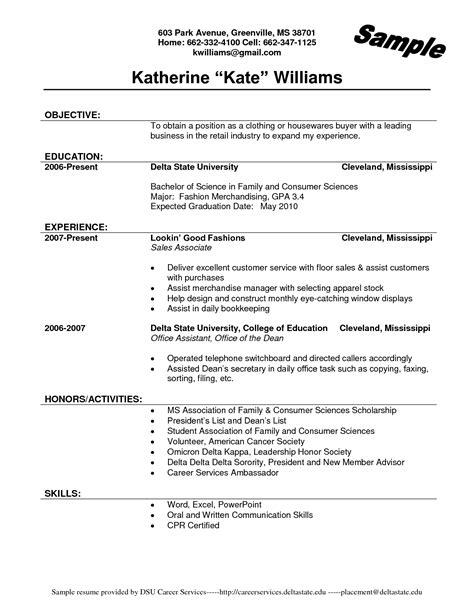 sales associate resume sample internships com
