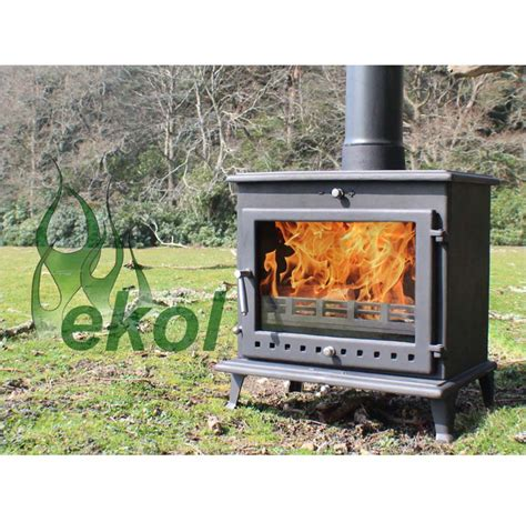 backyard wood stove ekol crystal 12 woodburning mulit fuel stove outdoor a