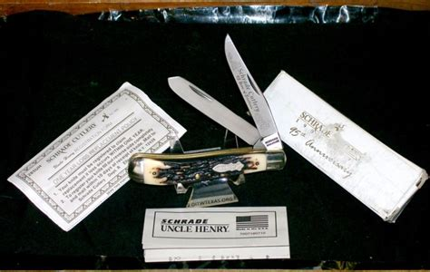 henry combo bowie set schrade henry knife for sale collectibles for
