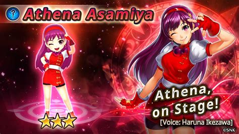 Connec Athena new collaboration event in rpg valkyrie connect athena asamiya and other popular