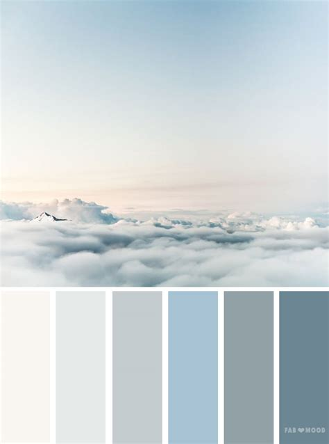 color of sky color palettes inspired by sky blue sky color schemes
