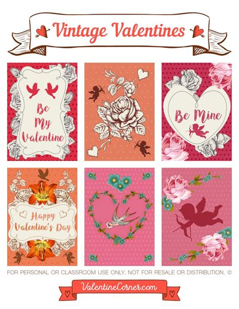 Valentines Card Template Pdf by 62 Best S Day Printables At Valetinecorner