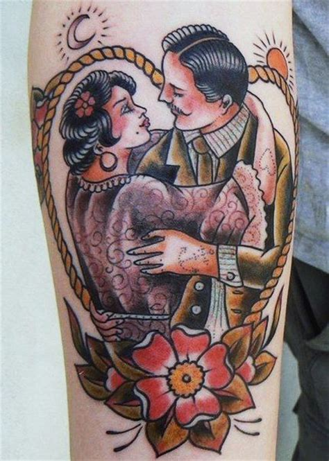 couple tattoo art 17 best images about tattoo traditional couple on pinterest