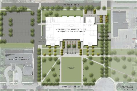 website build plan center for student life and college of business