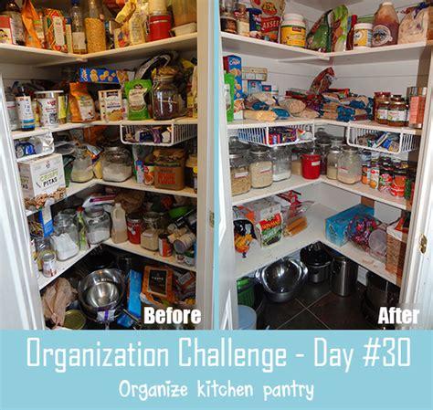 30 day organization challenge day 30 organize food pantry