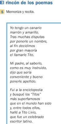 poesia para mi colegio de 5 estrofas reggiblog agenda 26 3 2012