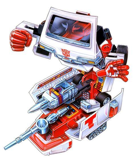 Kaos Transformers Autobot Ratchet ratchet cross variant g1 box transformers box boxes and crosses