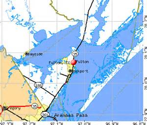 fulton tx 78358 78382 profile population maps