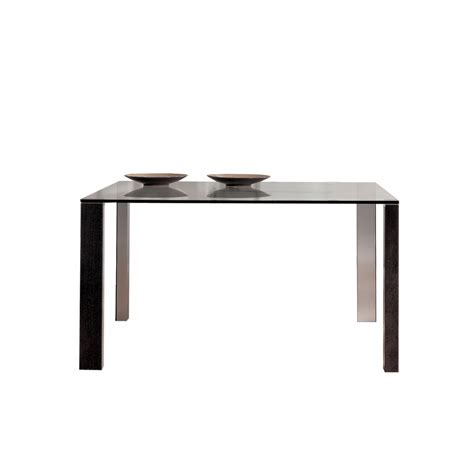 Square Glass Dining Tables Classica Square Glass Dining Table Beyond Furniture