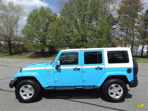 jeep chief rhino 2017 chief blue jeep wrangler unlimited chief edition 4x4