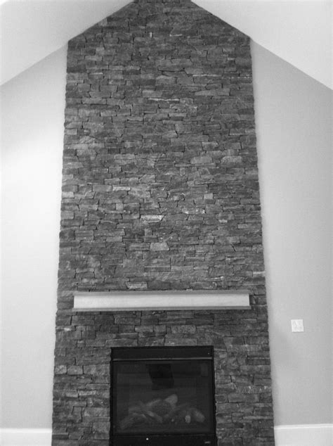 fabulous floor to ceiling stacked stone fireplace design 1000 ideas about stone fireplace mantles on pinterest